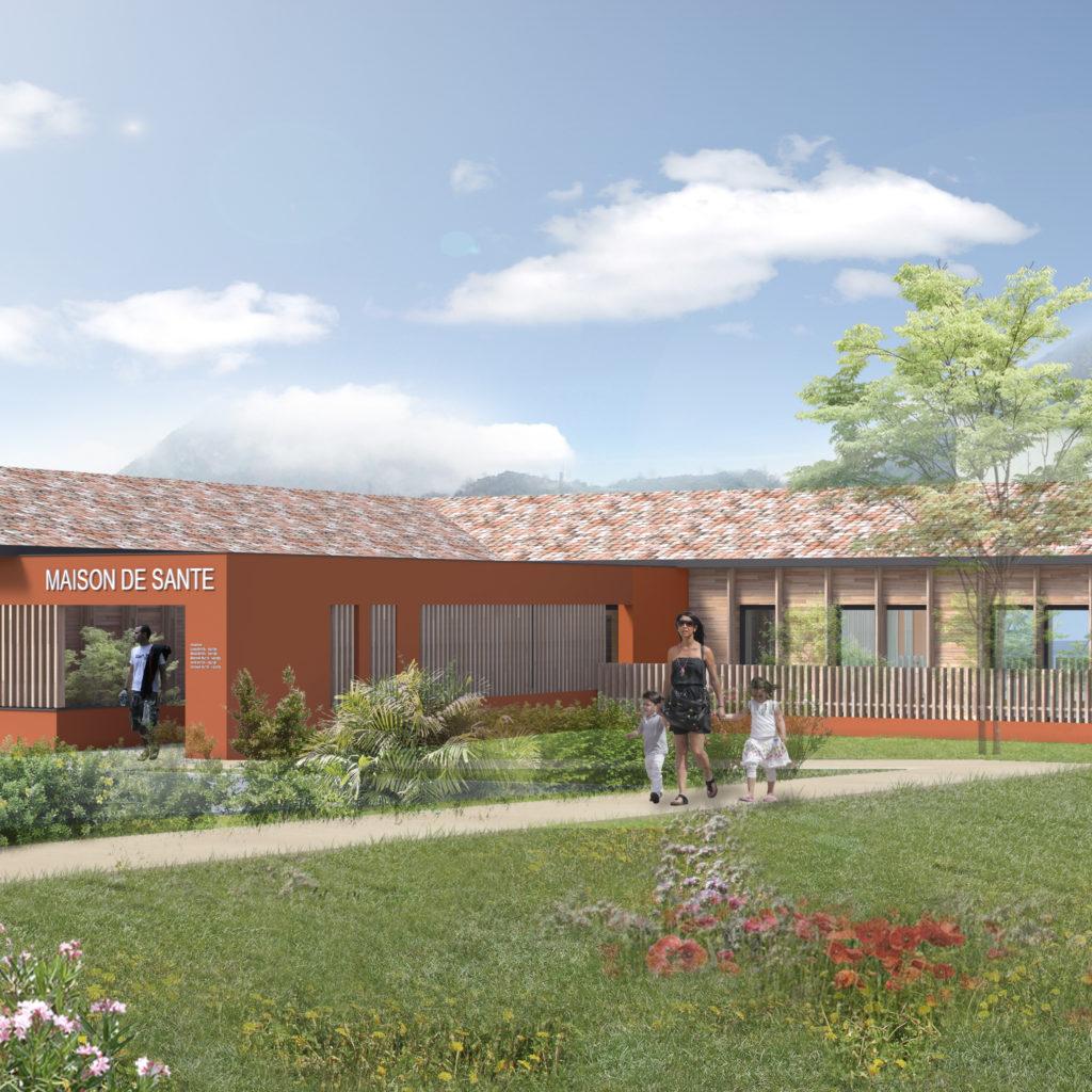 Maison de Santé à Mercus