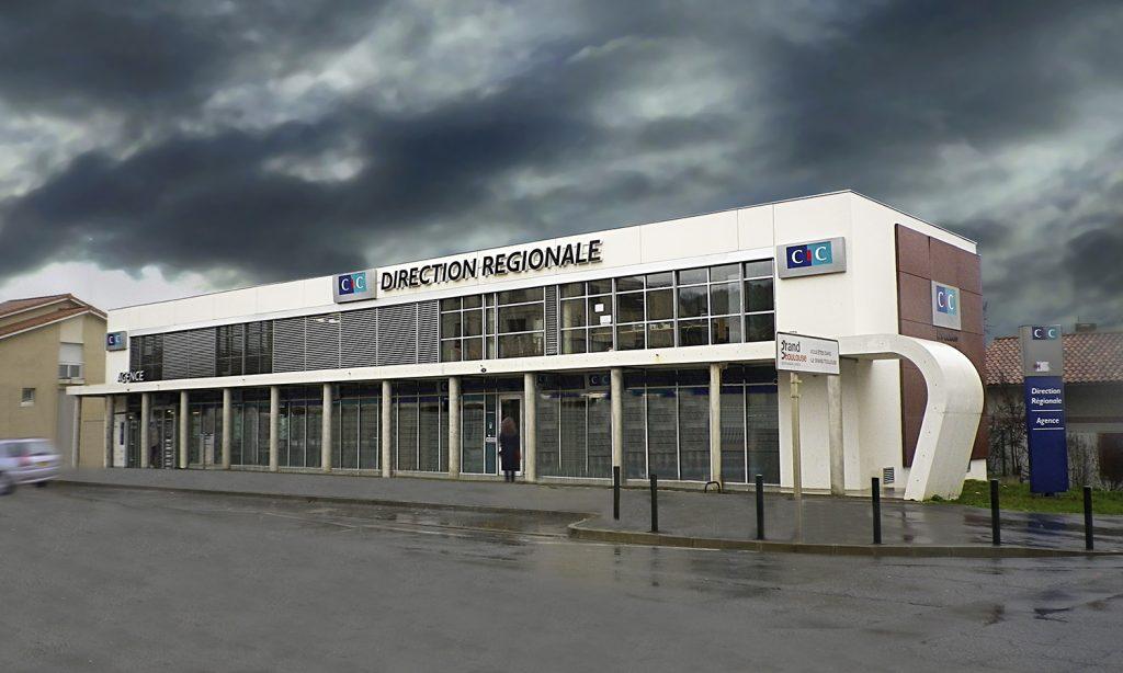 Direction régionale et agence CIC Société Bordelaise à Toulouse