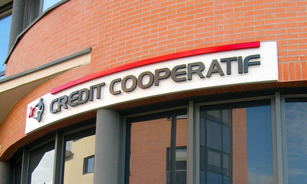 Agence bancaire Credit Cooperatif