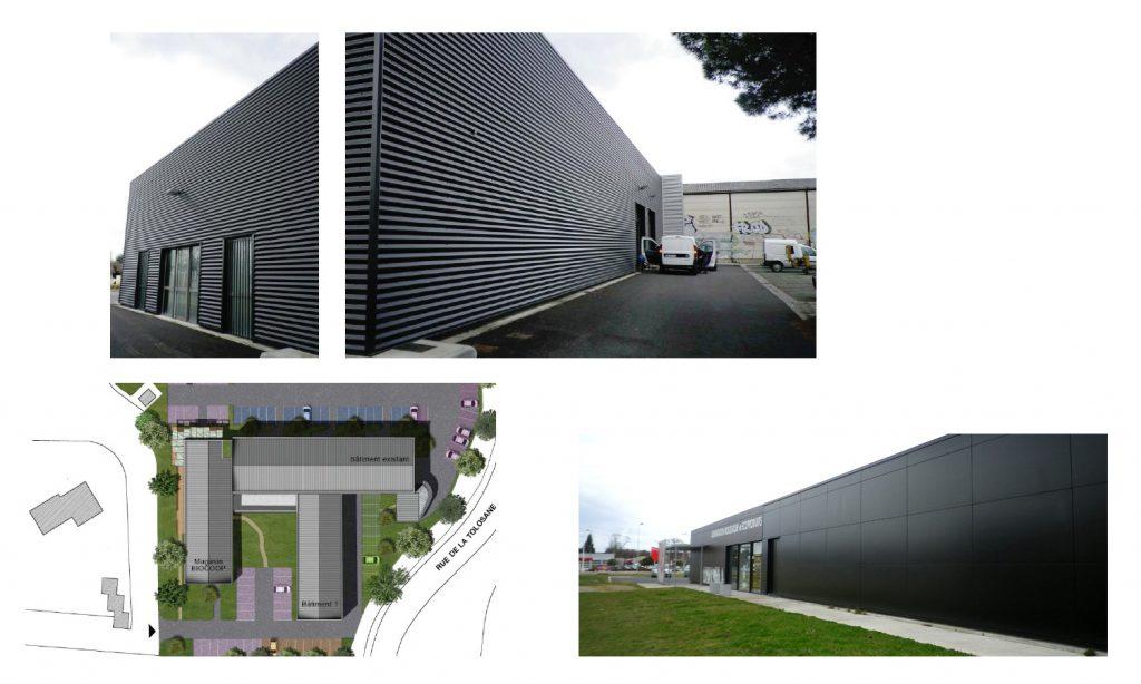 Espace commercial Biocoop à Labege