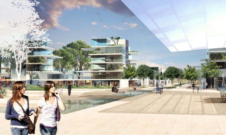 Projet urbain et architectural à Seilh